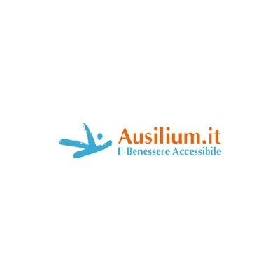 Lettino da Massaggio in Alluminio a 2 Sezioni - Altezza Regolabile - Bianco