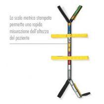 Rsp Pediatrico - Sistema di Cinture a Ragno Universale per Tavola Spinale