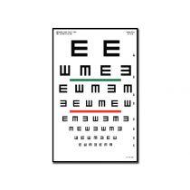 Tavola Optometrica Tumbling e 23 X 35.5 - 6.1 M
