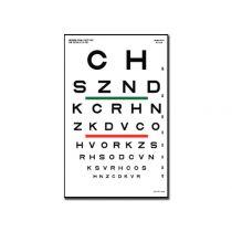 Tavola Optometrica Sloan 23 X 35.5 - 6.1 M