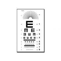 Tavola Optometrica Tumbling e 28 X 56 - 6.1 M