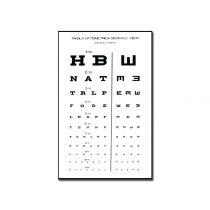 Tavola Optometrica Decimale Mista 28 X 56 - 6.1 M