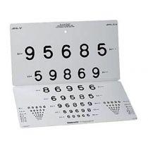 Tavola Visione da Lontano 15 Linee Numeri Lea - 3 M