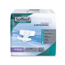 Pannolone Soffisof Air Dry - Incontinenza alta notte - Cartone da 60 pezzi