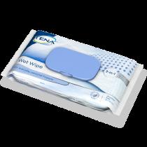 Salviette monouso umidificate per il lavaggio del corpo - TENA Wet Wipe - 12 confezioni da 48 salviette