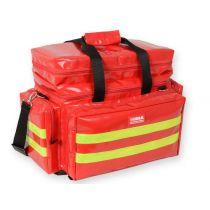 Borsa Medica Professionale per Emergenza - Media - Rossa