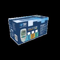 Multicare In Starter Kit - Misuratore di Colesterolo, Glicemia, Trigliceridi