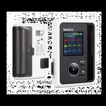 Registratore Holter  ECG a 3/12 canali, con display  a colori - cavo a 12 derivazioni