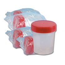 Contenitore Urine da 120 Ml - Camera Bianca Iso8 - Confezione da 250 Pezzi