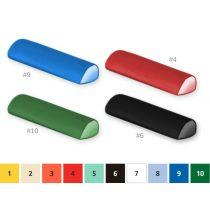 Cuscino Semicilindrico 20X50X10 Cm - Colore a Scelta