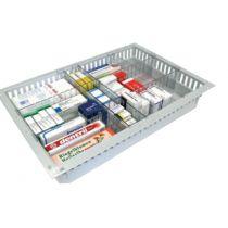 Divisorio per cassetti ISO per la conservazione di materiale sanitario