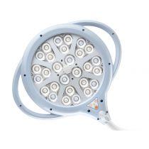 Lampada Scialitica a Led Pentaled 28 - su Carrello - 80.000 Lux - 5.000°K - 220W