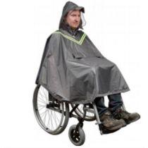 Mantellina antipioggia per utenti in carrozzina