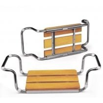 Sedile per Vasca da Bagno con Seduta in Faggio - Aris 2101