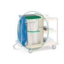 Sacco per Carrelli - Lavabile Fino a 200 Volte - Strip Verde