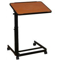 Tavolino da letto pieghevole e regolabile in altezza