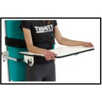 Tavolino di servizio per lettini fisioterapici