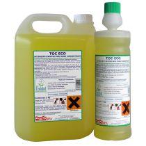 TOC Fresh Super C Detergente brillantante profumato a basso residuo superconcentrato - Profumo floreale - Flacone da 1 l