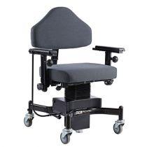 Sedia da Ufficio Bariatrica con Ruote, Seduta 62X50, Portata 325 Kg